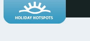 Holiday Hotspots - custom application development (PHP, HTML, CSS, JQuery JavaScript)